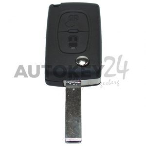 HF-Plip Schlüssel 2 Knopf –  C8 – Jumpy – 6490AN
