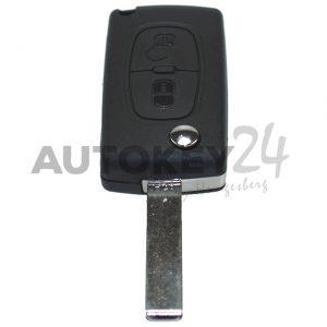 HF-Plip Schlüssel Berlingo,C3, C4, 2 Knopf – 6490FT