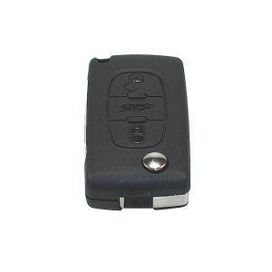 Gehäuse ohne Logo leer 3 Knopf, Batterie im Gehäuse