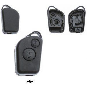 Gehäuse ohne Logo leer 2 Knopf, Berlingo, Citroen®, Evasion, Saxo, Xsara
